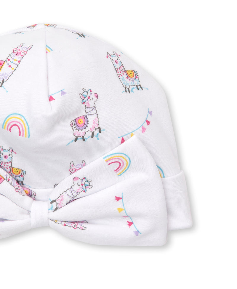 Fun-Loving Llamas Print Hat