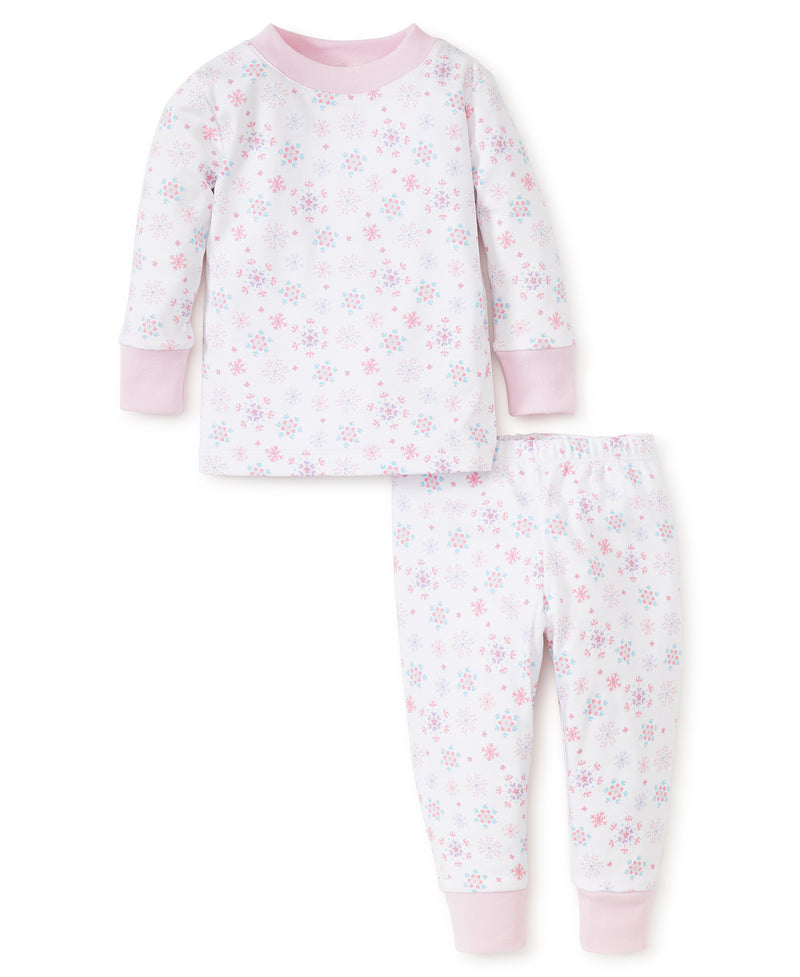 Snow Flower Toddler Pajama Set