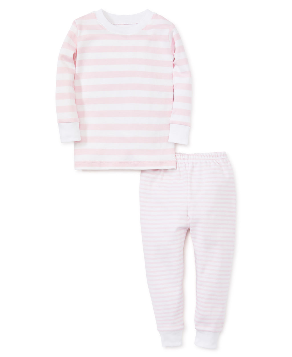 Pink Stripes Pajama Set