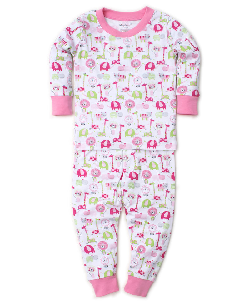 Jazzy Jungle Pink Toddler Pajama Set