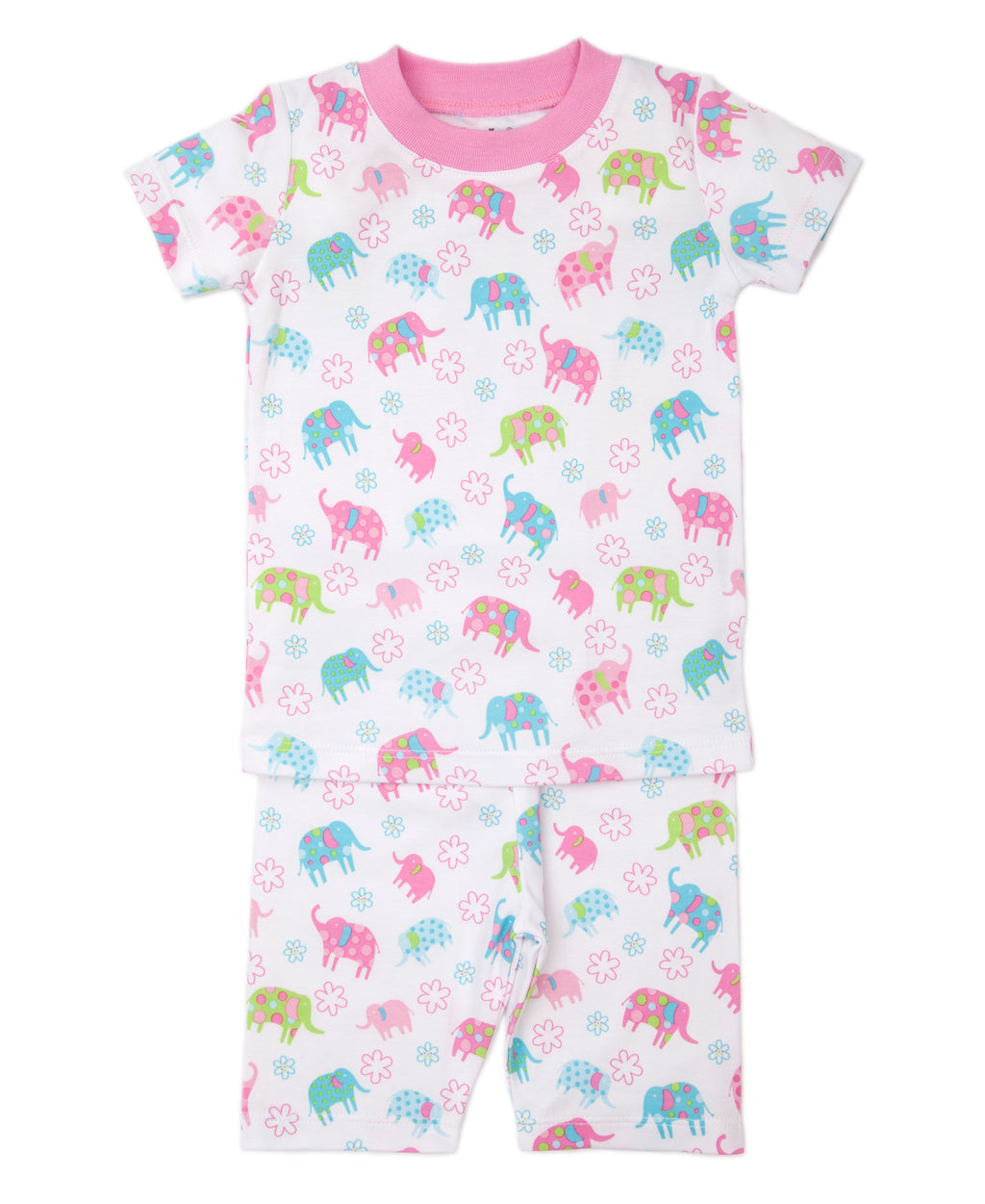 Ele Flower Short Pajama Set