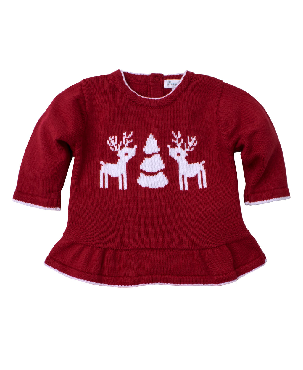 Red Reindeer Knits Sweater