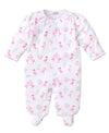 Flowering Flamingos Print Footie