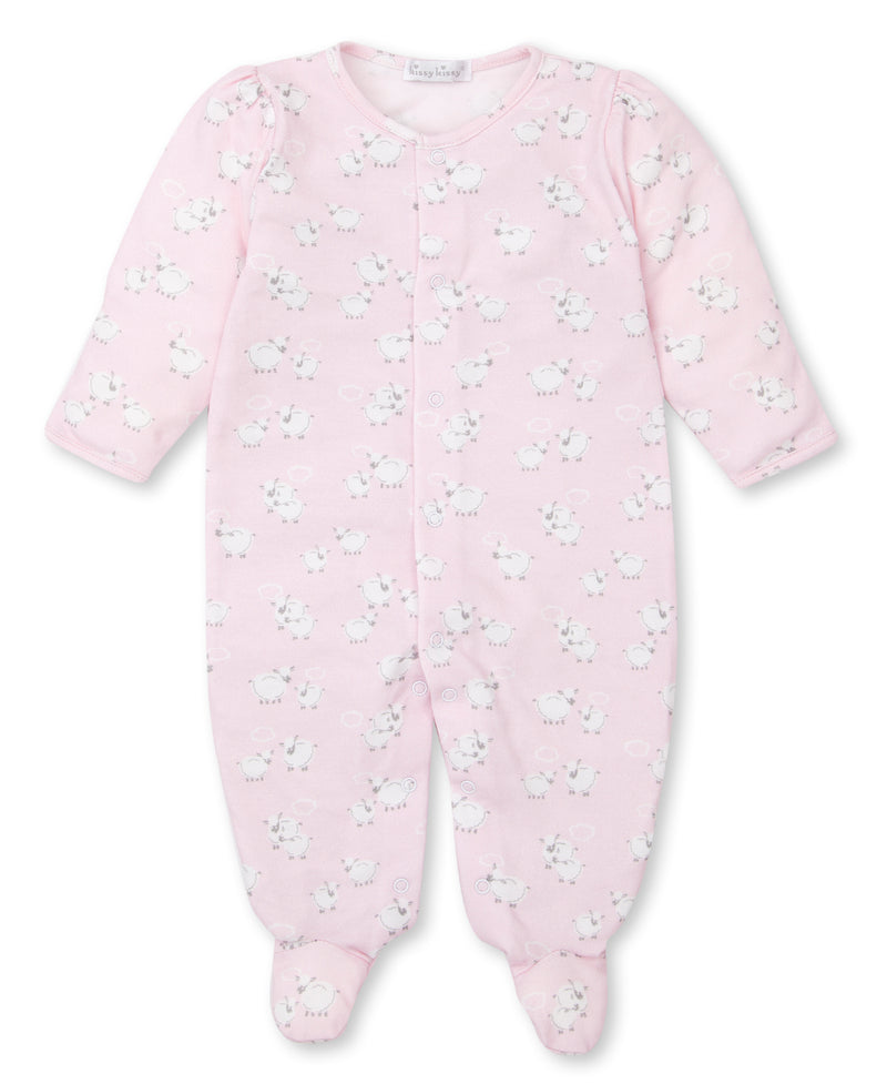 Cuddle Sheep Print Footie
