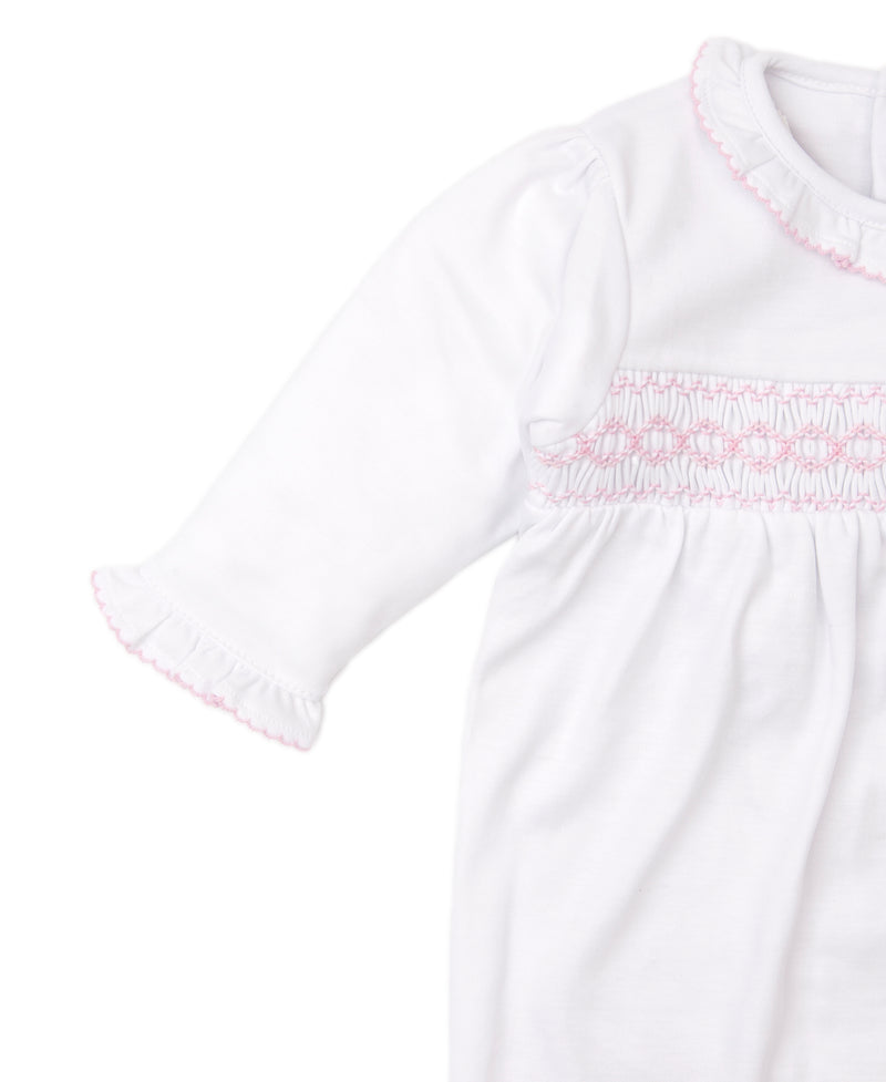 CLB Fall 20 Hand Smocked Footie