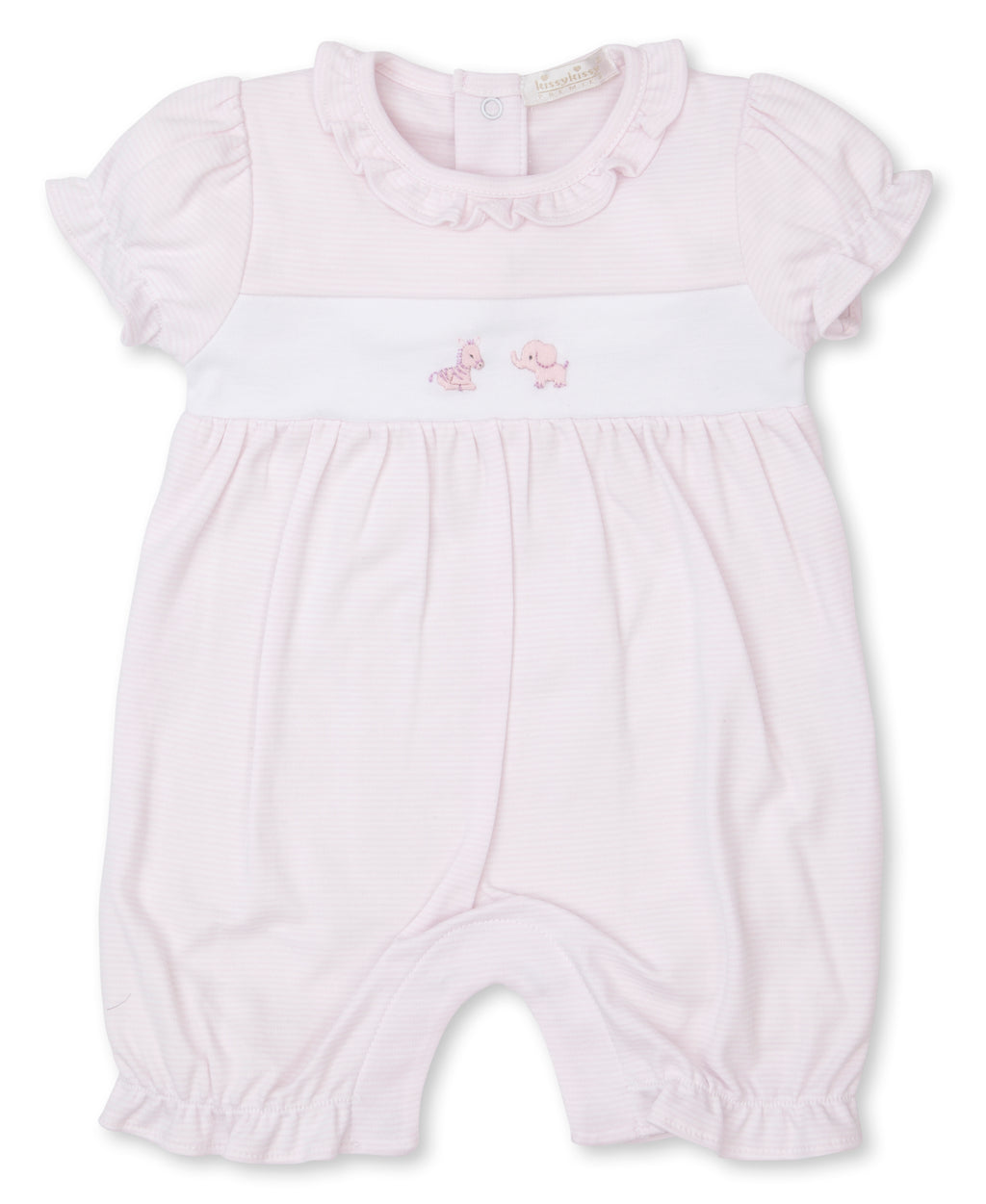 Hand Emb. SCE Jungle Babies Short Playsuit