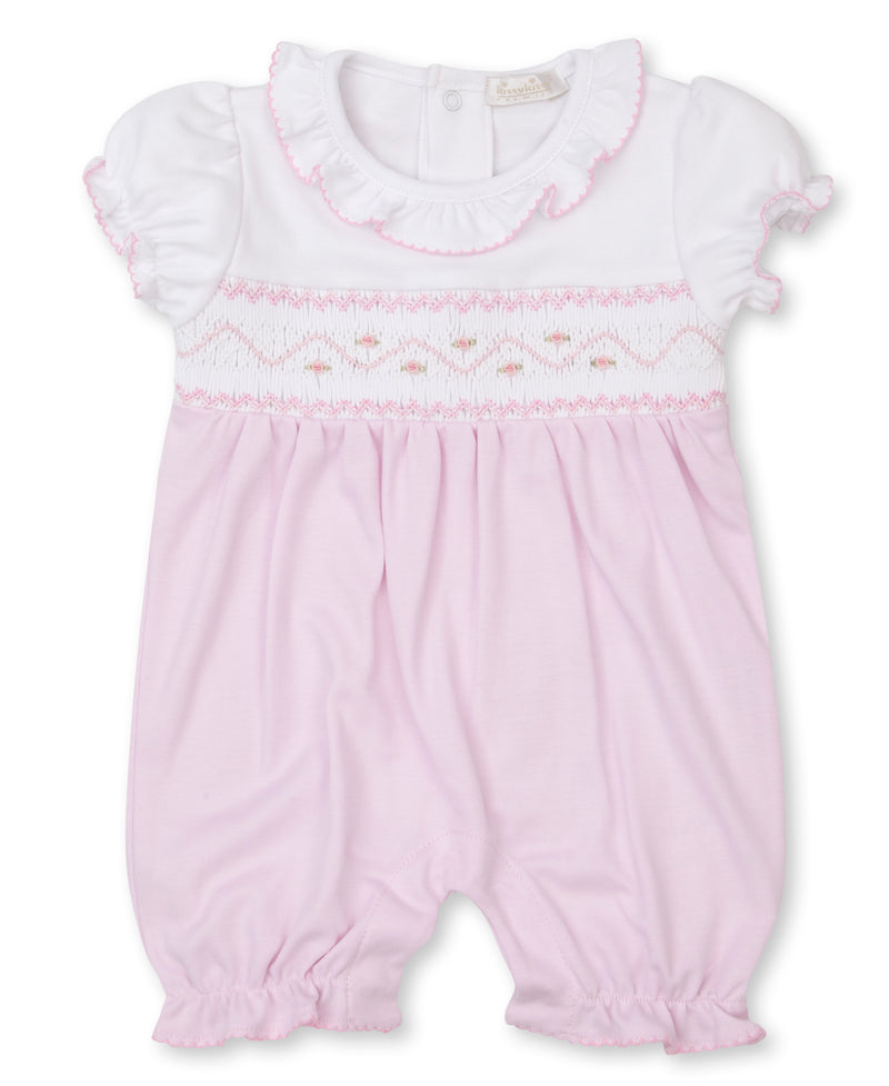 CLB Summer 21 Hand Smocked Short Playsuit