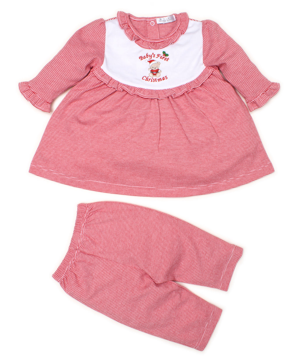 Baby's First Christmas Dress Set