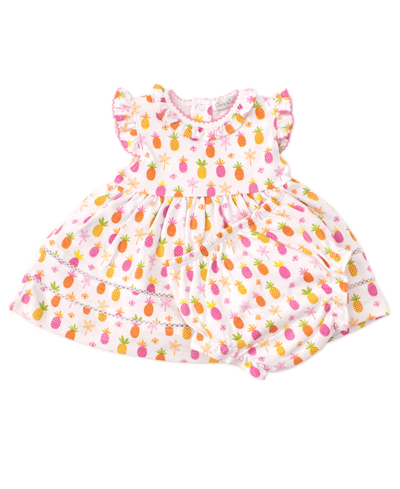 Prismatic Pineapples Dress Set