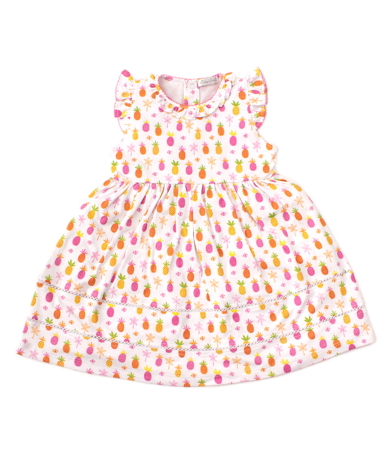 Prismastic Pineapples Toddler Dress