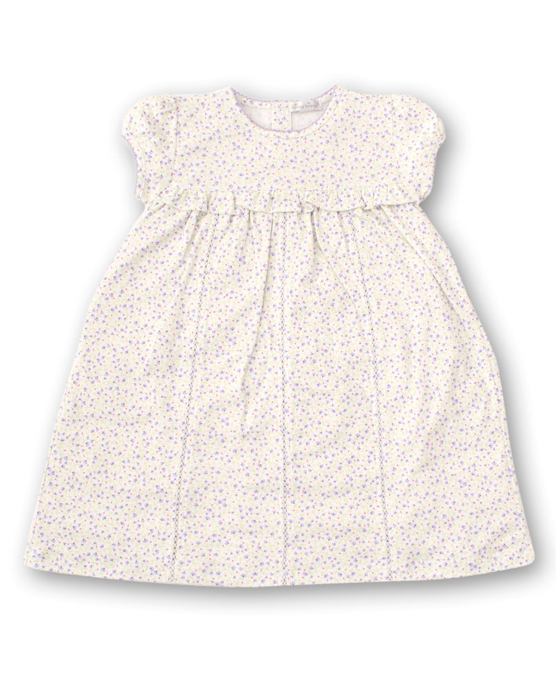 Spring Whispers Lilac Toddler Dress