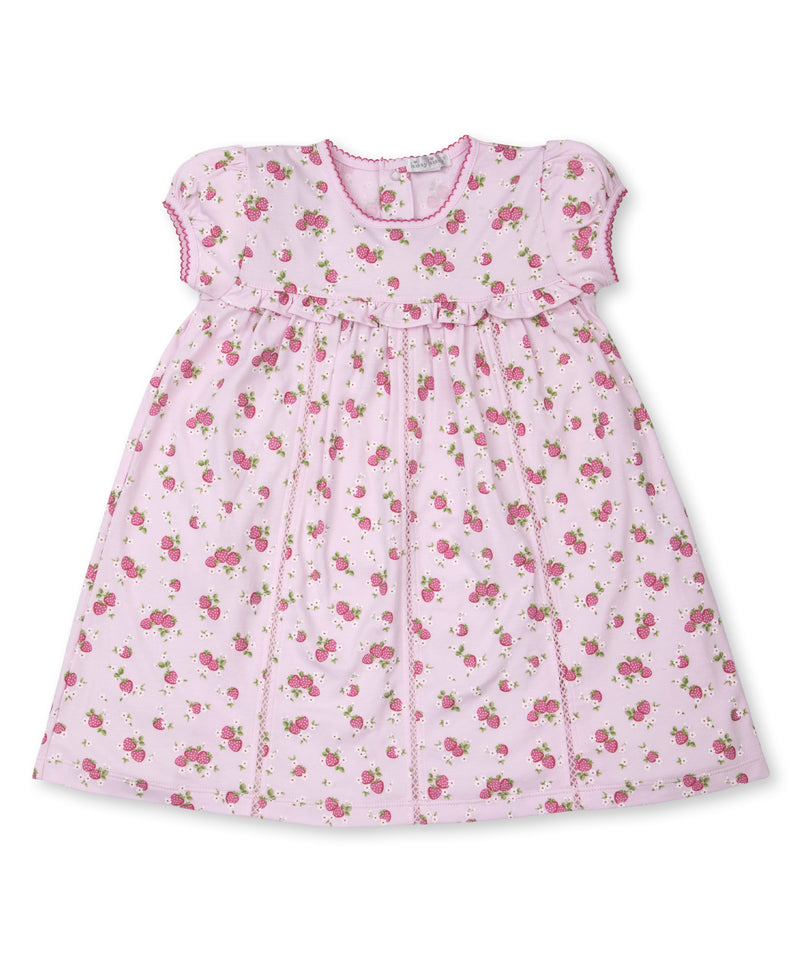 Strawberry Soiree Toddler Dress