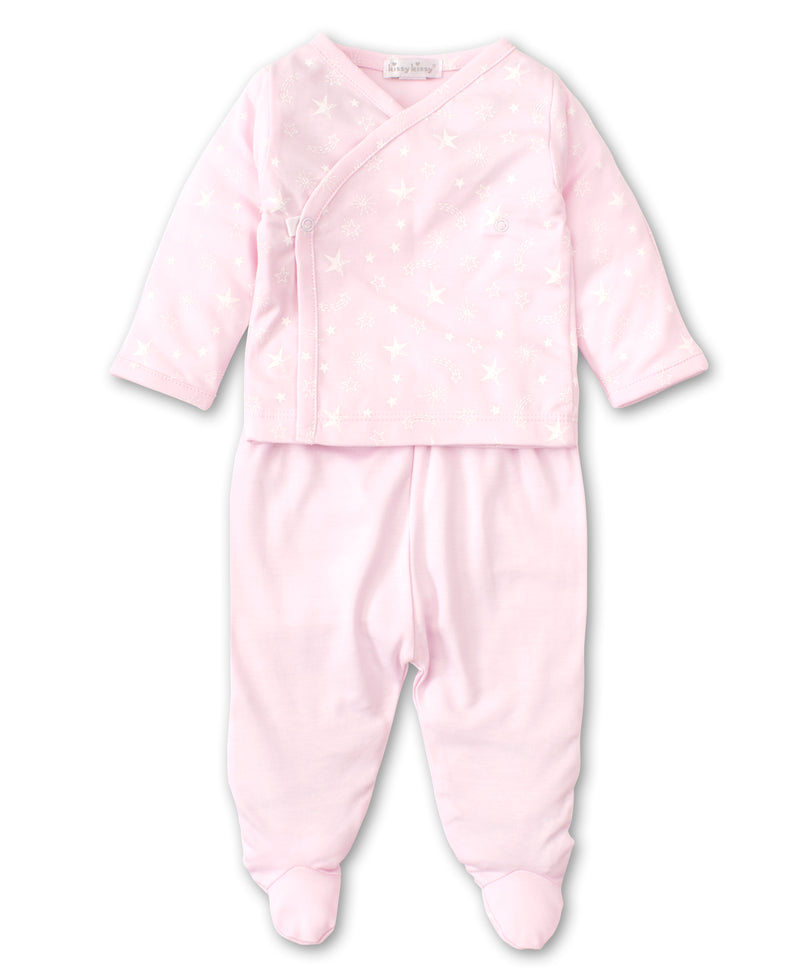 Starry Sky Pink Footed Pant Set