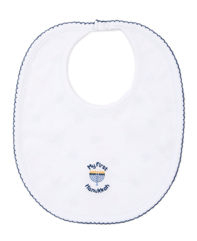 My First Hanukkah Reversible Bib