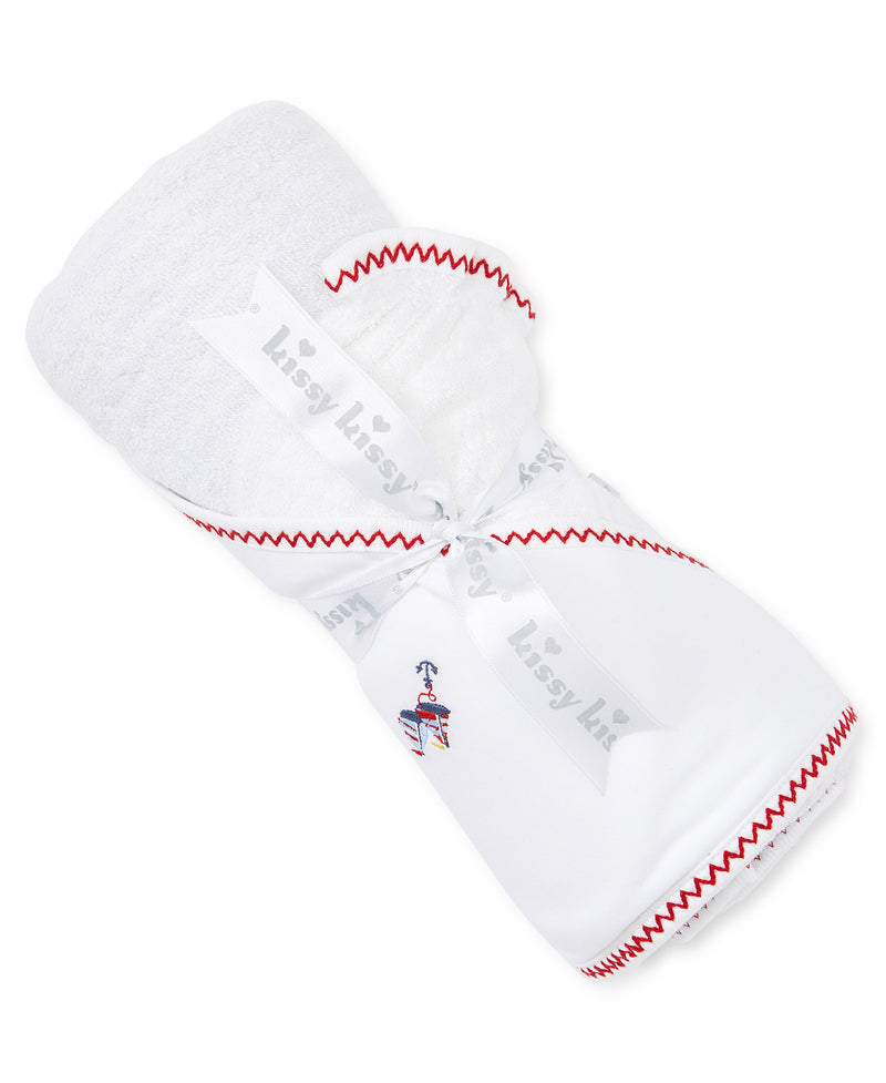 Summer Sails Hooded Towel & Mitt Set