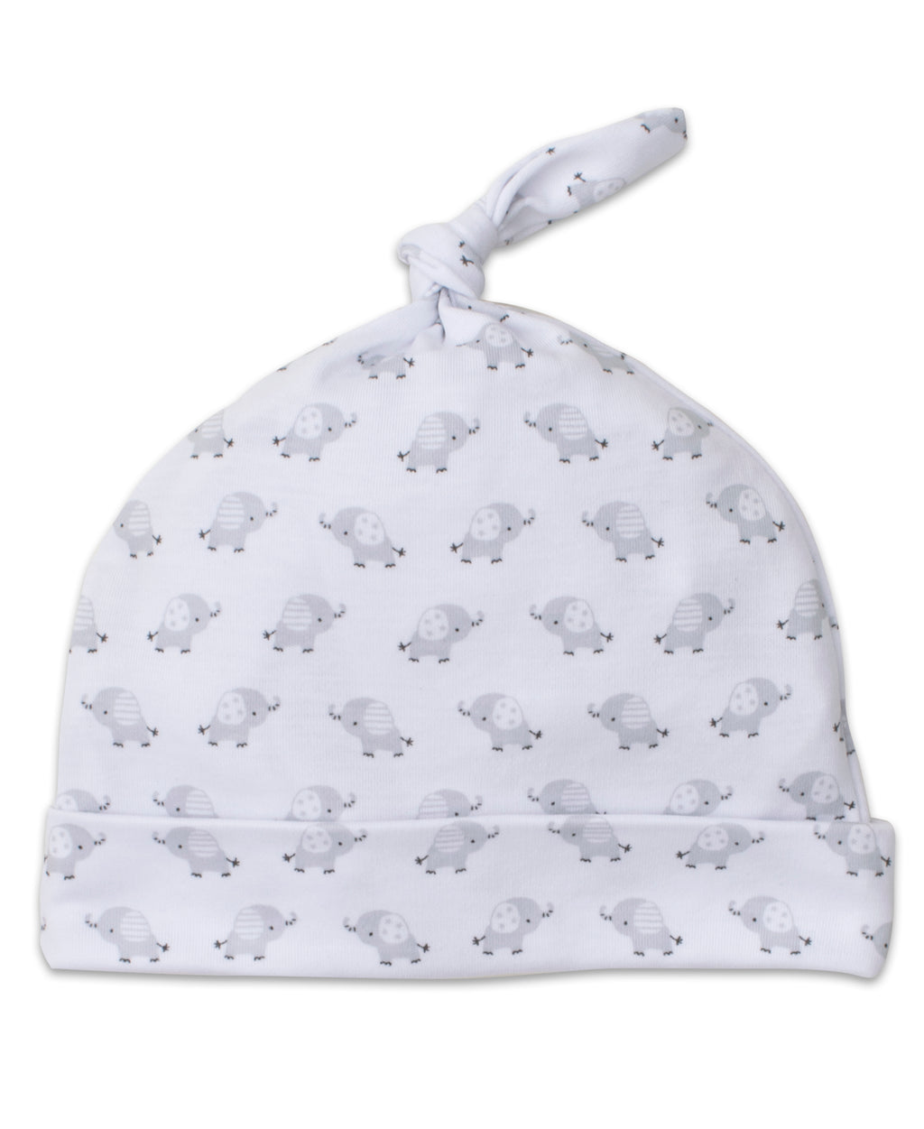 Baby Trunks Silver Print Hat