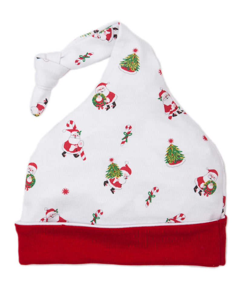 Here Comes Santa Claus Velour Stocking Hat