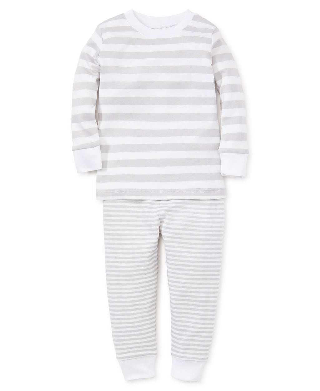 Gray Stripes Pajama Set