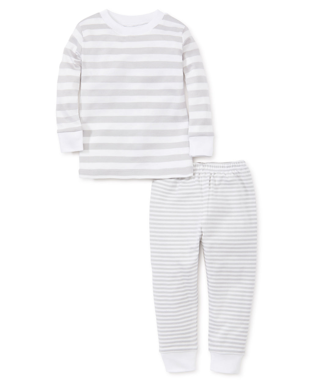 Gray Stripes Toddler Pajama Set