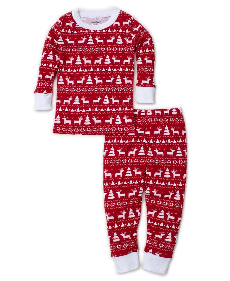 Christmas Deer Toddler Pajama Set
