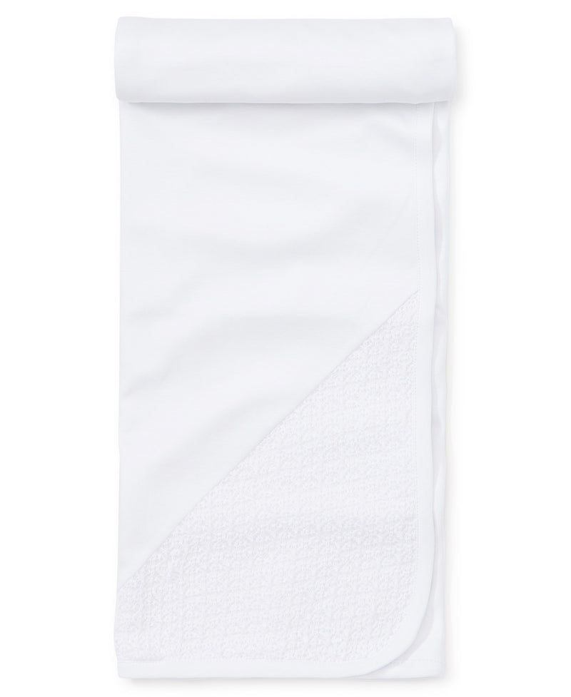 First Impressions White Blanket