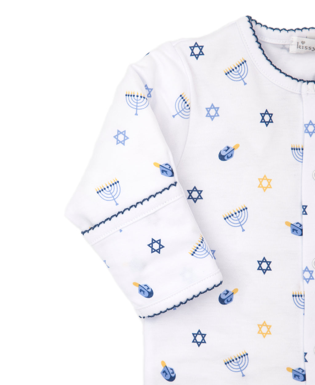 My First Hanukkah Print Footie