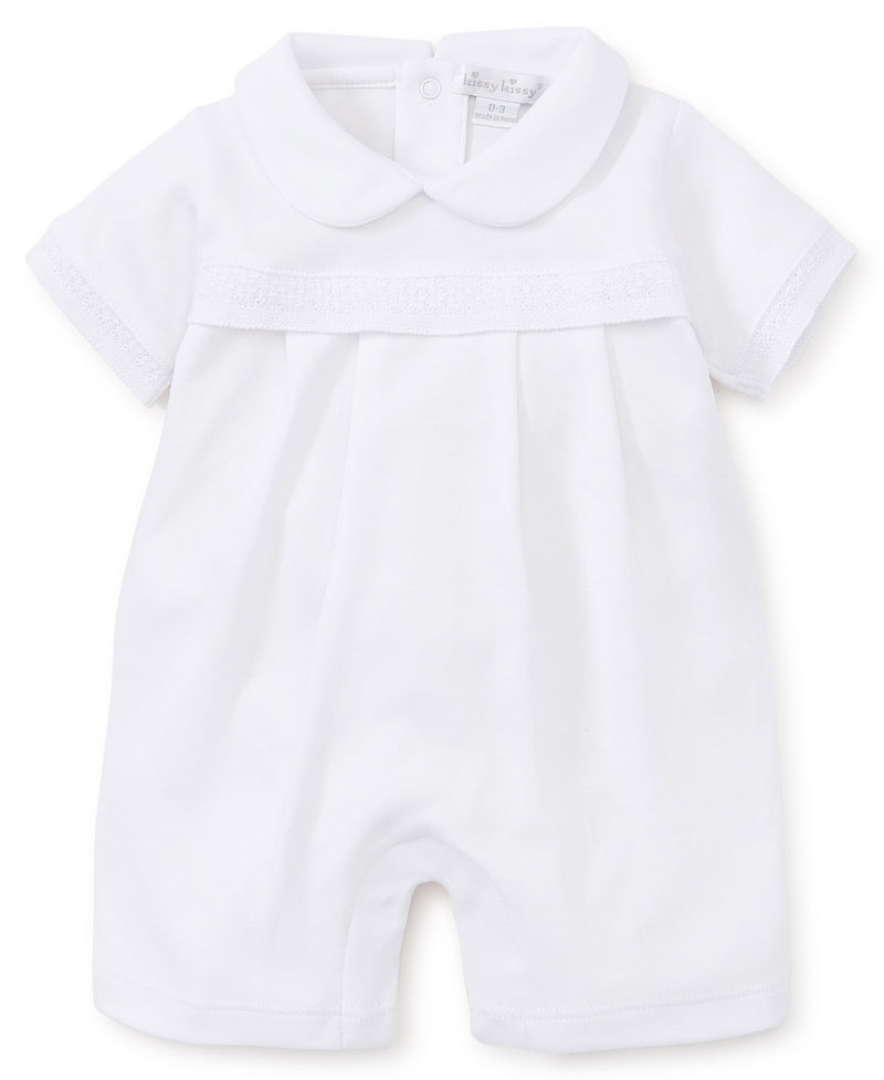 Baby Homecoming White Short Playsuit