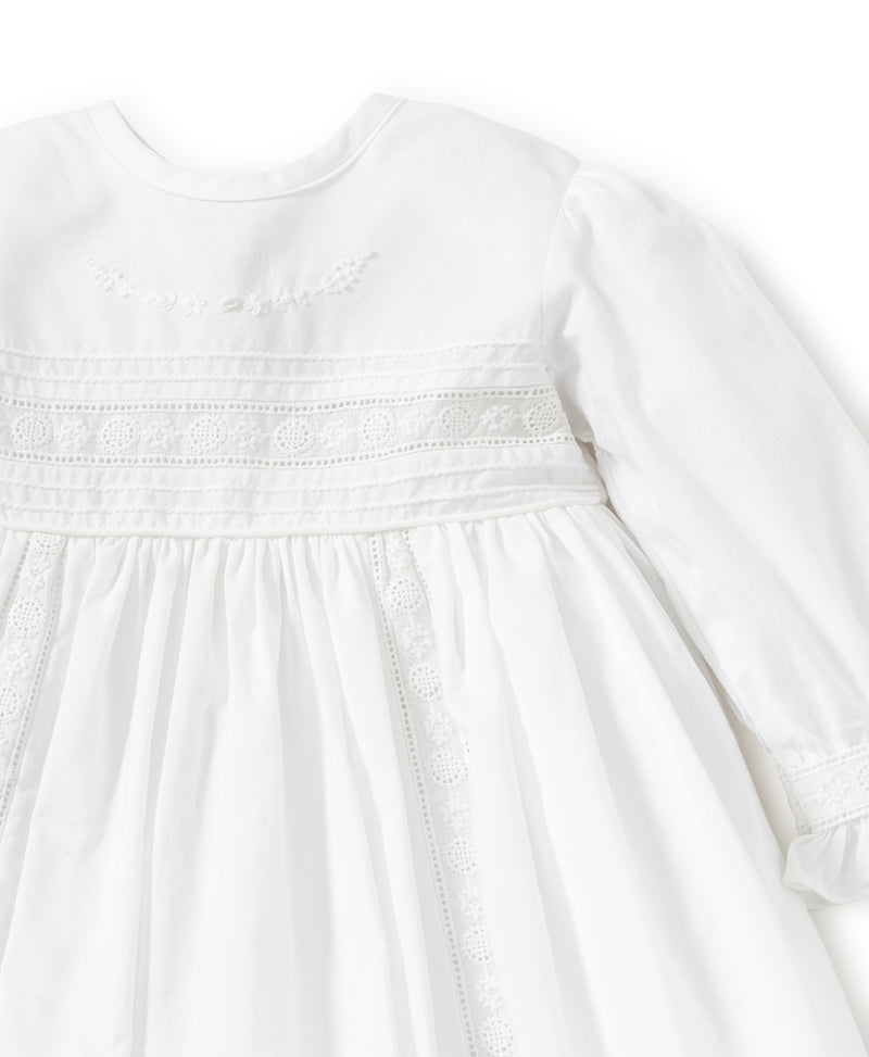 Nicole Christening Gown & Hat Set