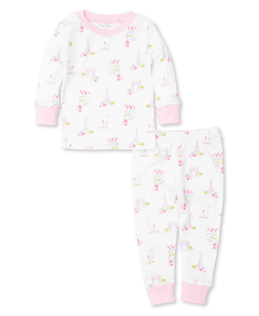 Parisian Summer Toddler Pajama Set