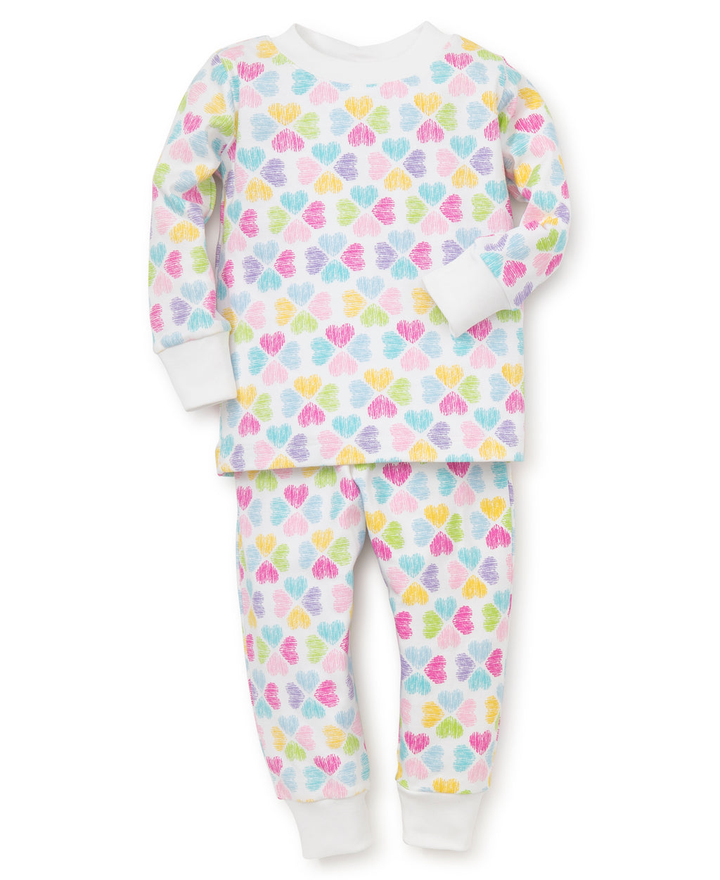 Hearts Toddler Pajama Set
