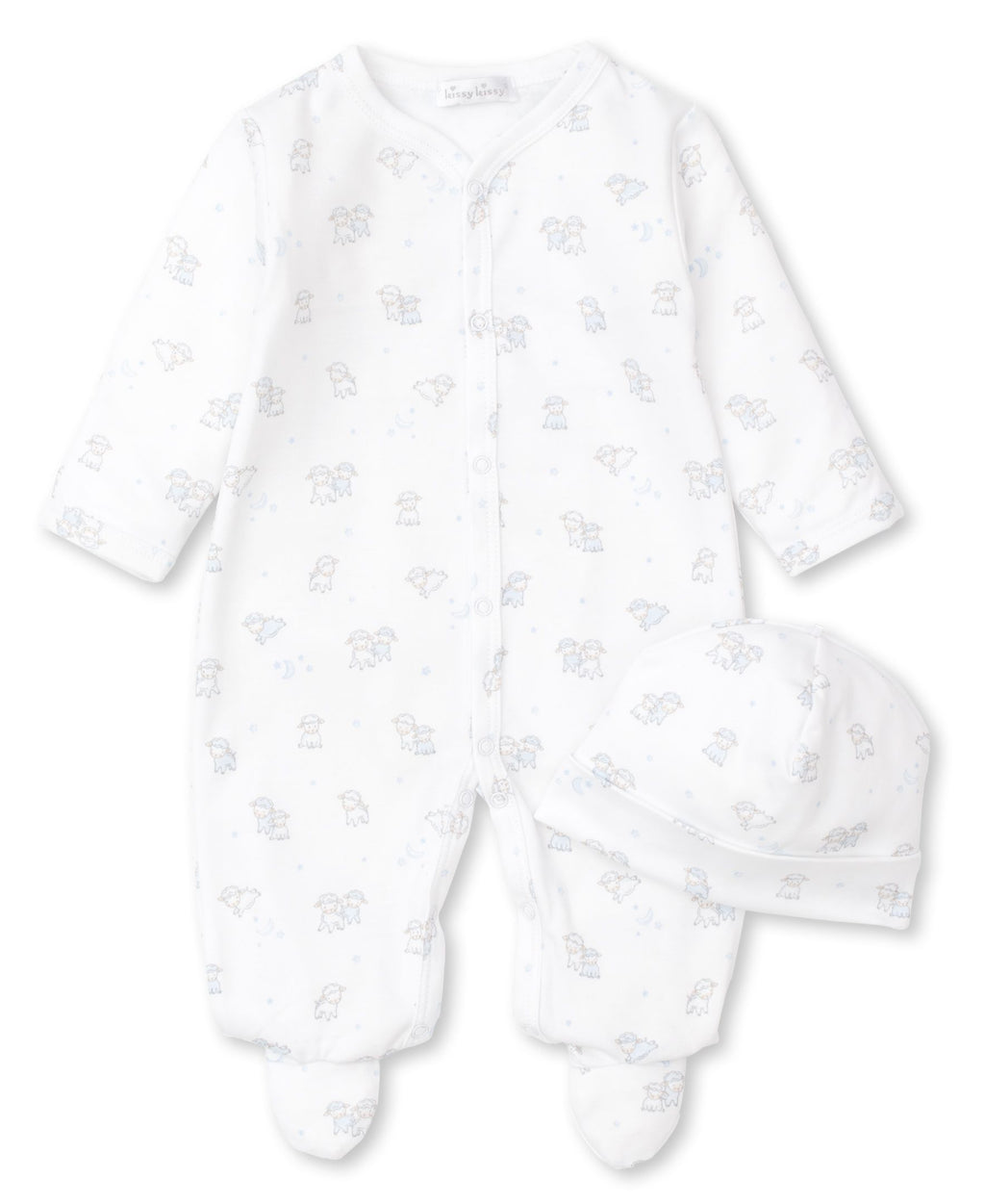 Sweetest Dreams Footie & Hat Set