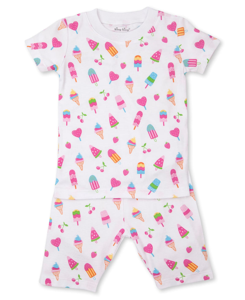 Popsicle Paradise Short Toddler Pajama Set