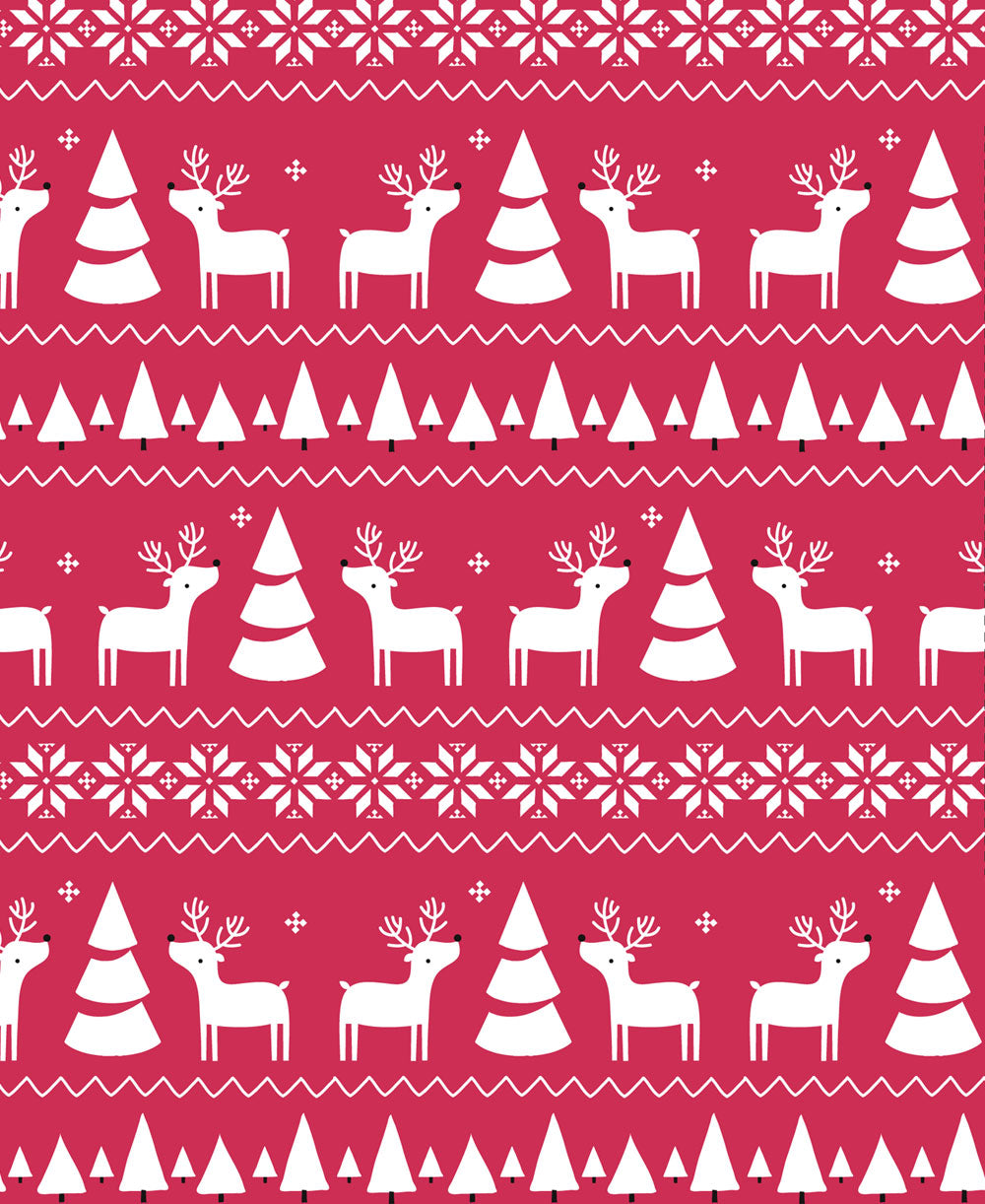 Christmas Deer Zip Footie |Kissy Kissy