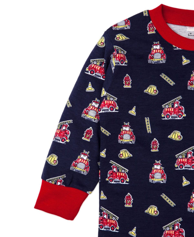 Fusty Fire Trucks Pajama Set