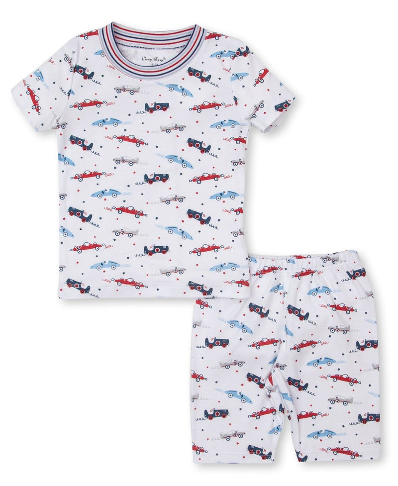 Reckless Racecars Short Toddler Pajama Set