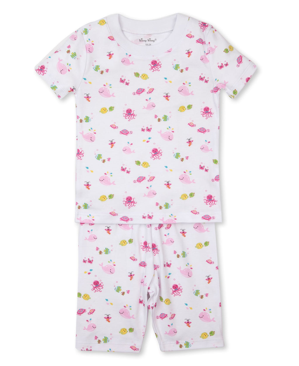 Ocean Oasis Toddler Pajama Short Set