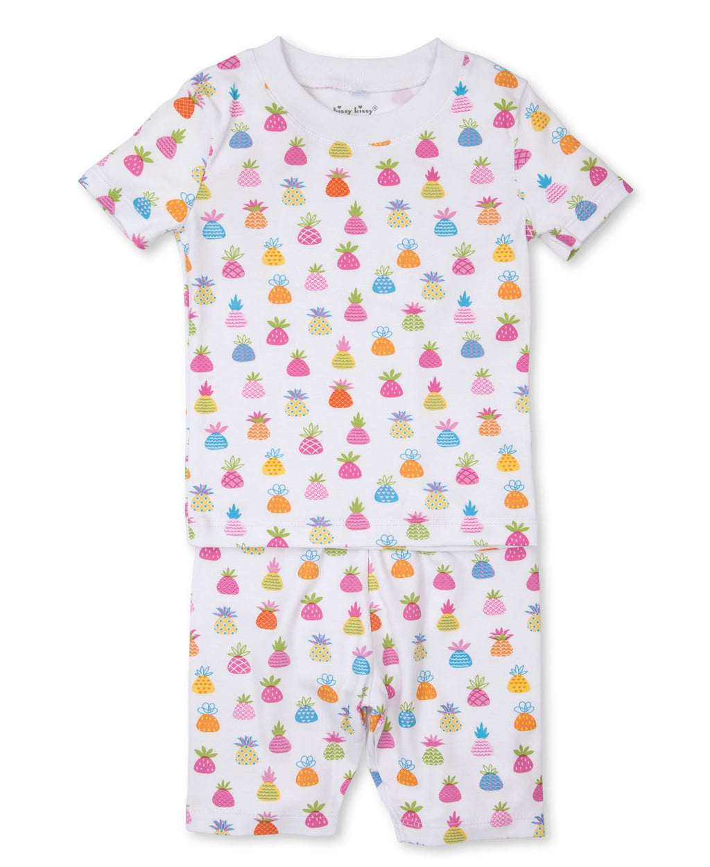 Pineapple Island Short Toddler Pajama Set