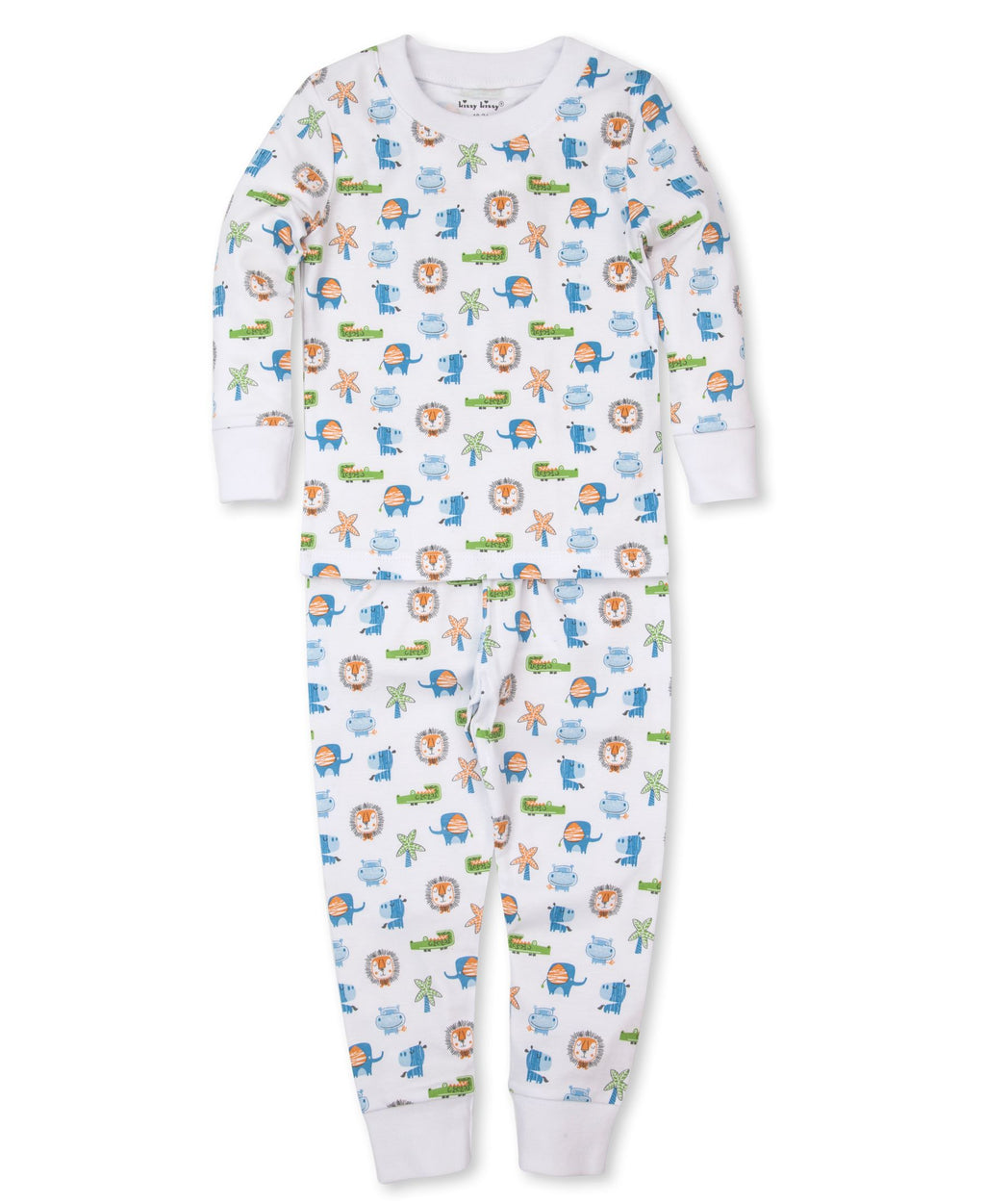 Jungle Antics Toddler Pajama Set