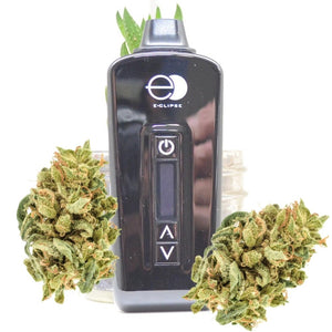 DarkSide Vapes E-Clipse Vaporizer with dry herb