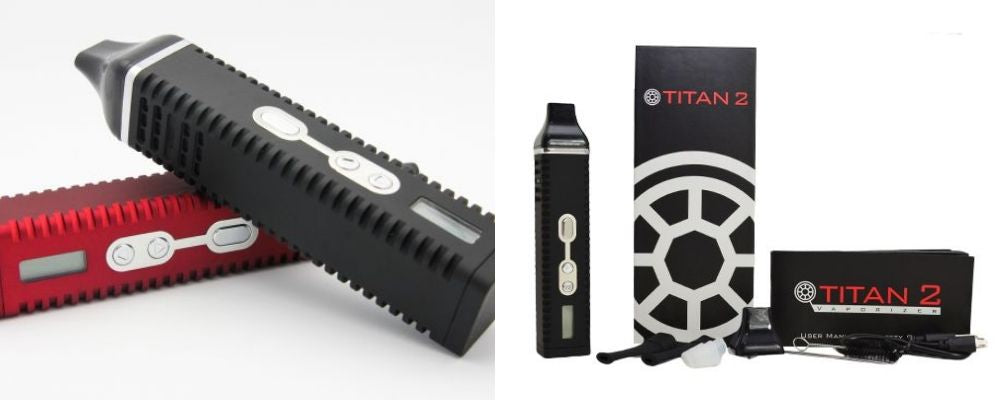 The Titan 2 Dry Herb Vaporizer Kit