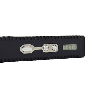 View of Titan 2 Dry Herb Vaporizer buttons and digital display