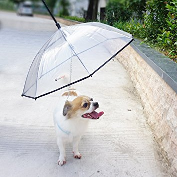VanityPup Durable Pet Umbrella With Leash