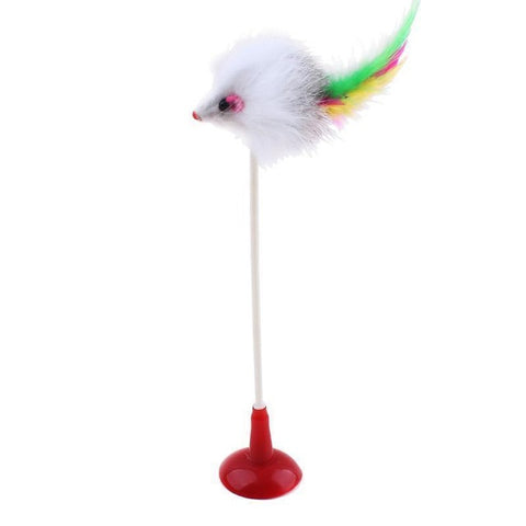 Pet Cat Toy With Suction Cup