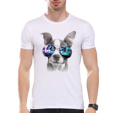 Glasses Dog Summer T-Shirt