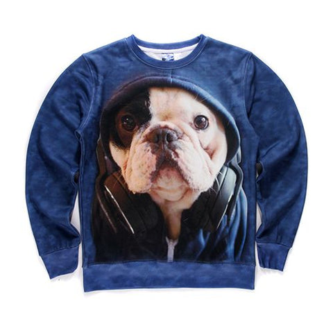 Hooded Pup Sweatshirt