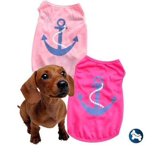 Barktek Anchors Away Dog T Shirt