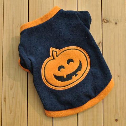 FancyPet Halloween Pumpkin Dog Sweater