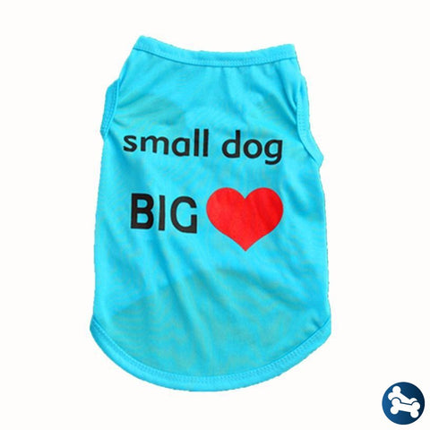 Barktek Pet Small Dog Big Heart T-Shirt