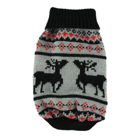 Winter Moose Christmas Sweater