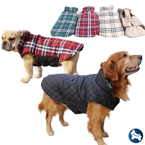 Barktek Kodiak Dog Flannel Coat